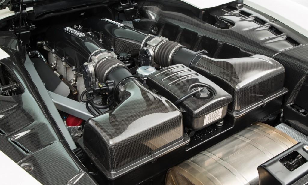 Ferrari 16M Scuderia For Sale - Engine and Transmission 4
