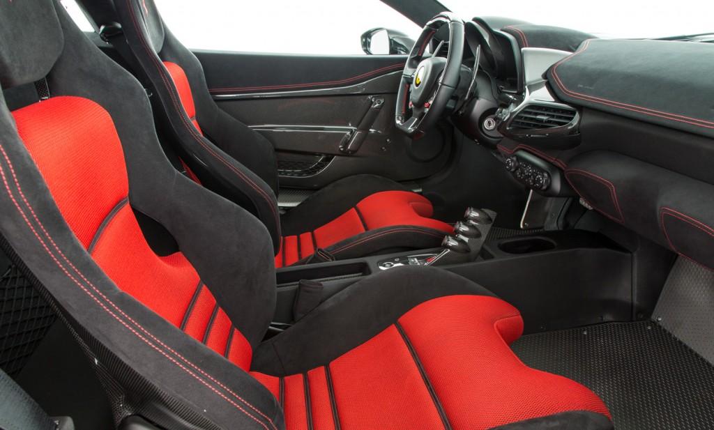 Ferrari 458 Speciale For Sale - Interior 1