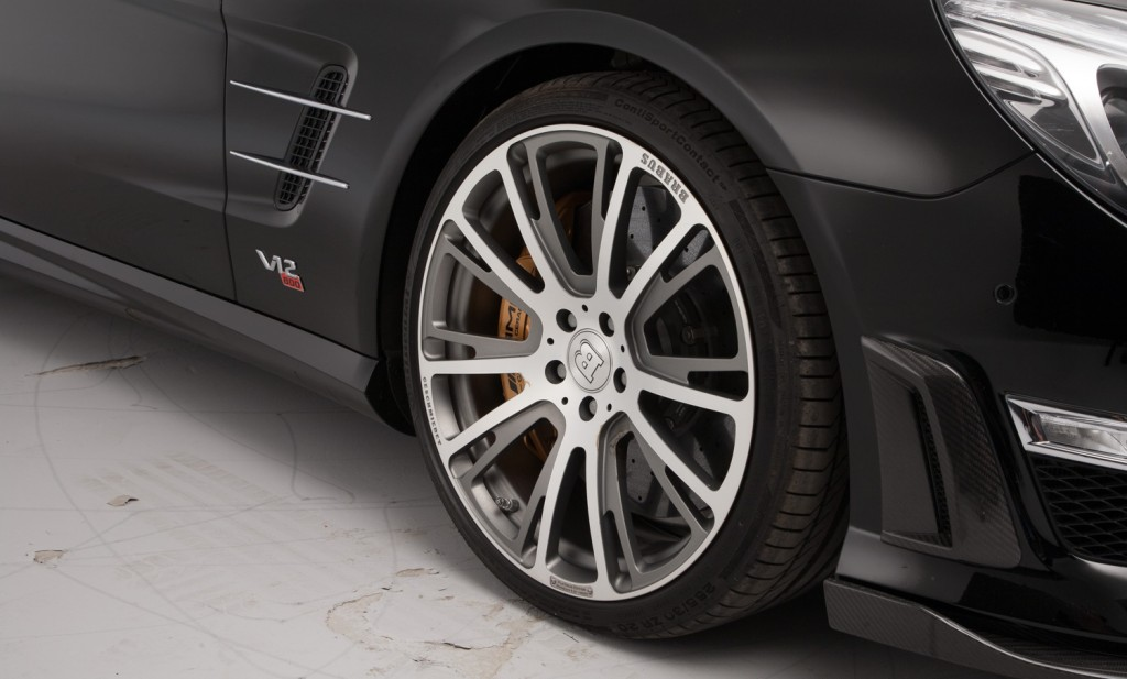 Brabus SL 800 For Sale - Wheels, Brakes and Tyres 3