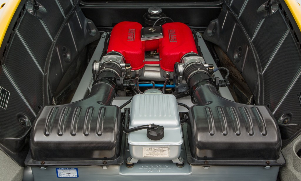 Ferrari Challenge Stradale For Sale - Engine and Transmission 3