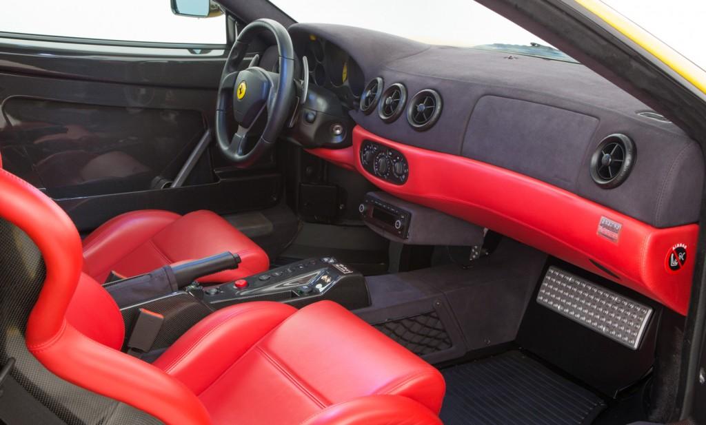 Ferrari Challenge Stradale For Sale - Interior 5