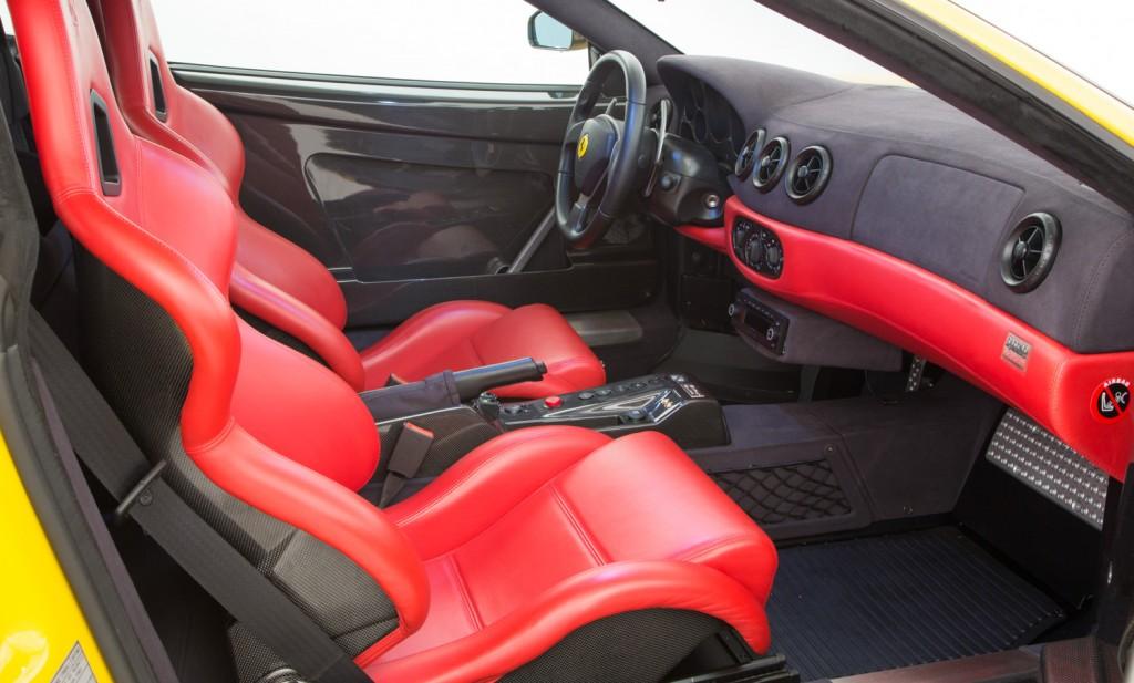 Ferrari Challenge Stradale For Sale - Interior 2