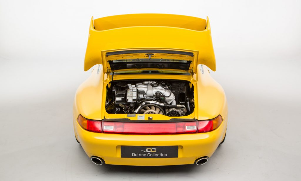 Porsche 993 Carrera RS For Sale - Engine and Transmission 1
