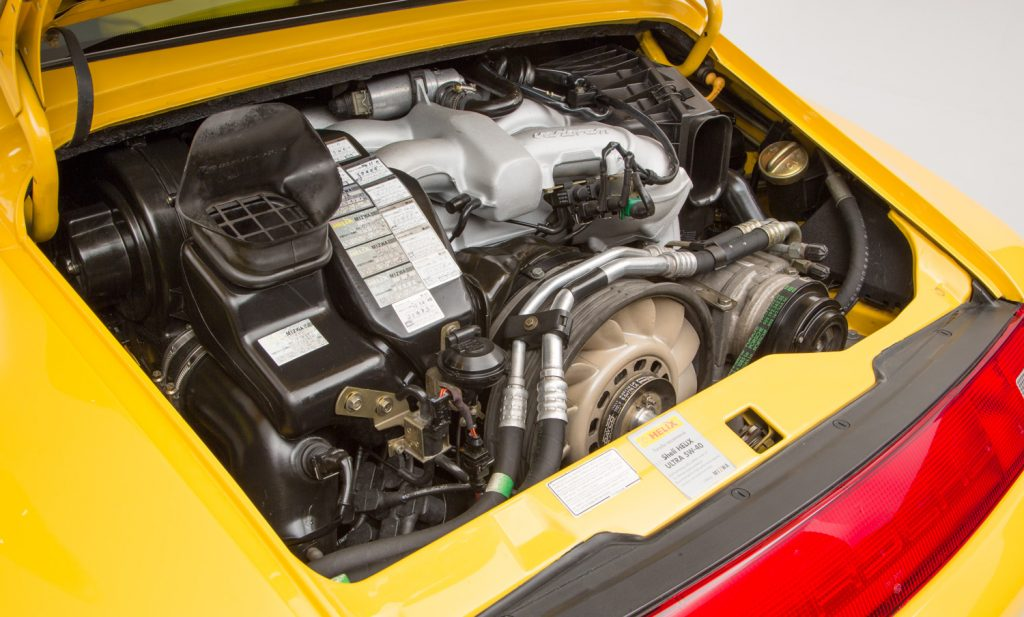 Porsche 993 Carrera RS For Sale - Engine and Transmission 3