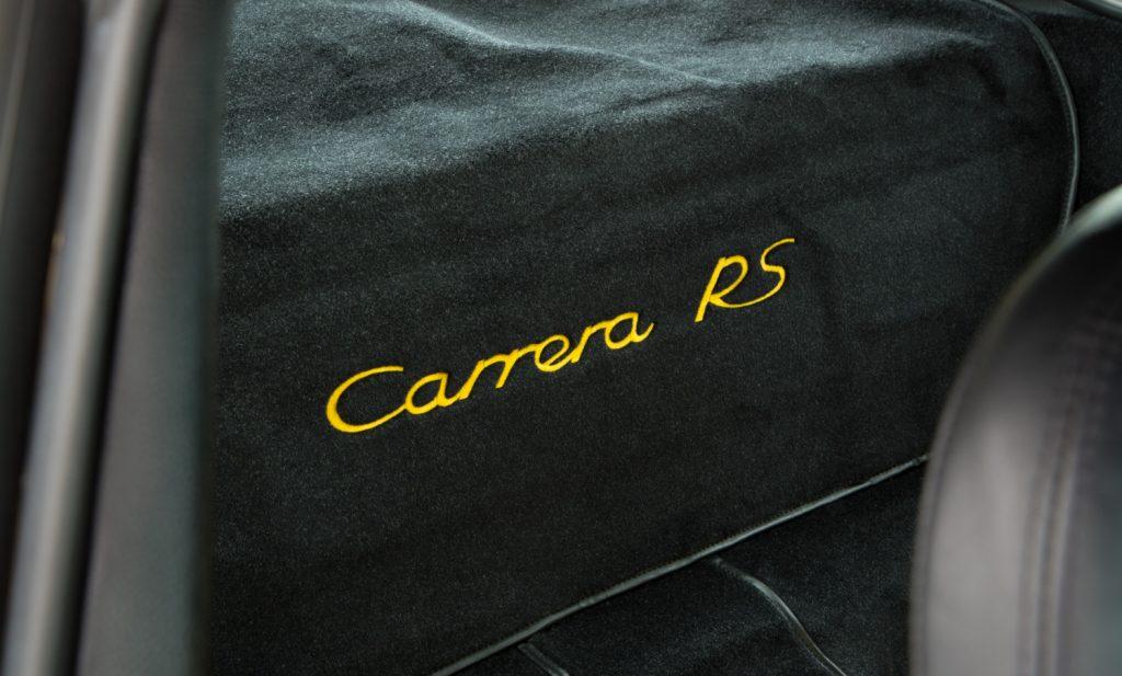 Porsche 993 Carrera RS For Sale - Interior 7
