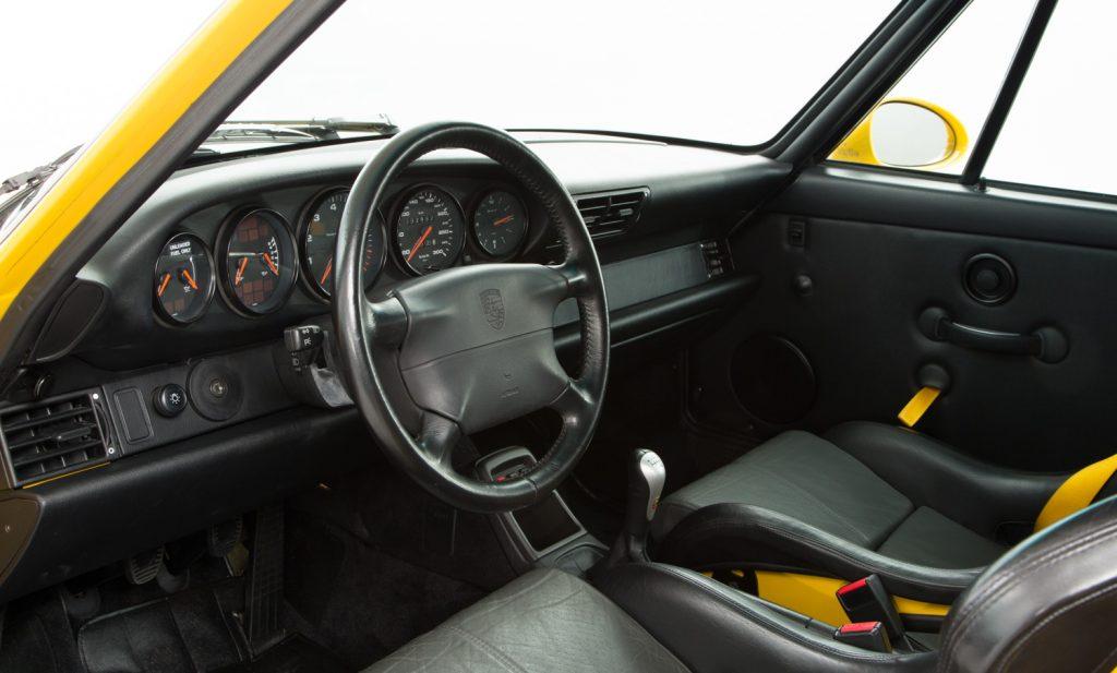 Porsche 993 Carrera RS For Sale - Interior 2