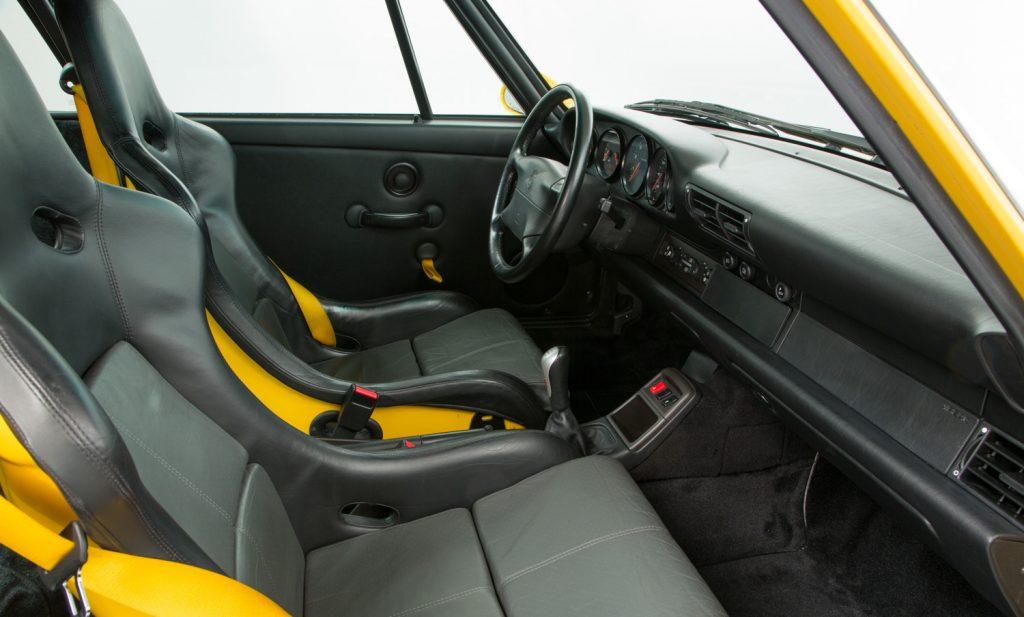 Porsche 993 Carrera RS For Sale - Interior 4