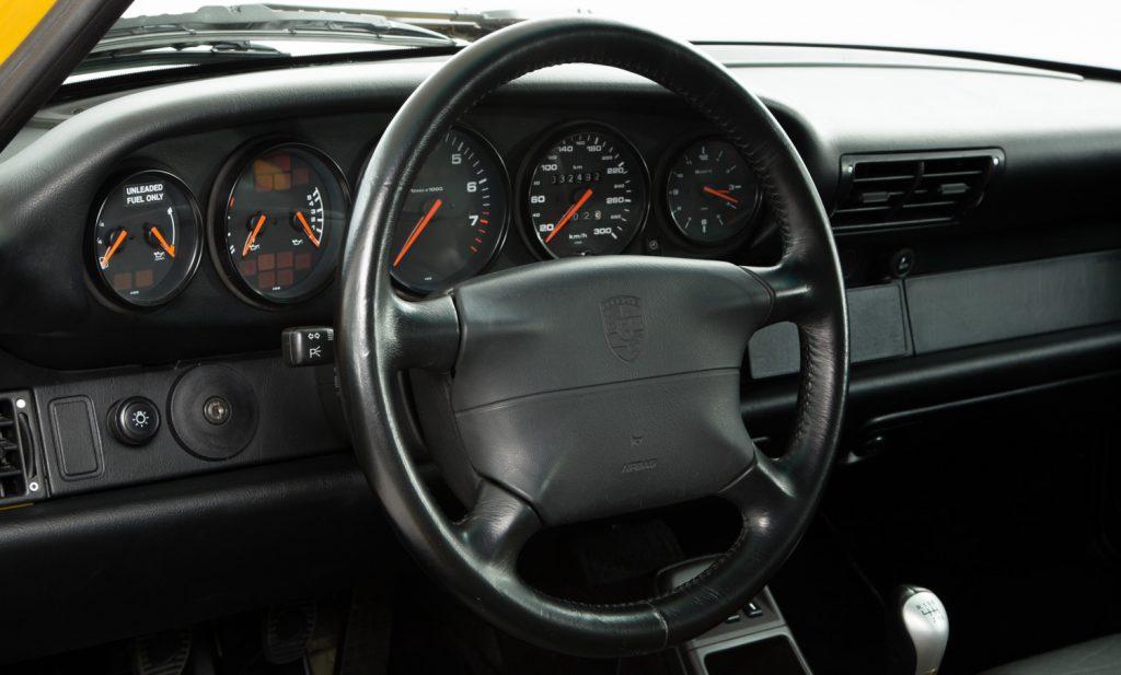 Porsche 993 Carrera RS For Sale - Interior 3