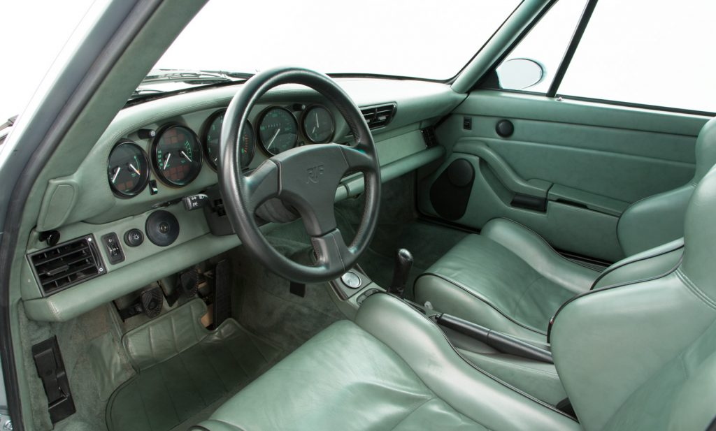 RUF CTR2 For Sale - Interior 2