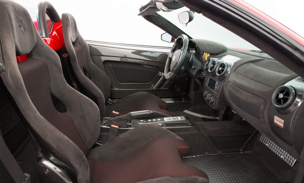 Ferrari 16M Scuderia For Sale - Interior 2