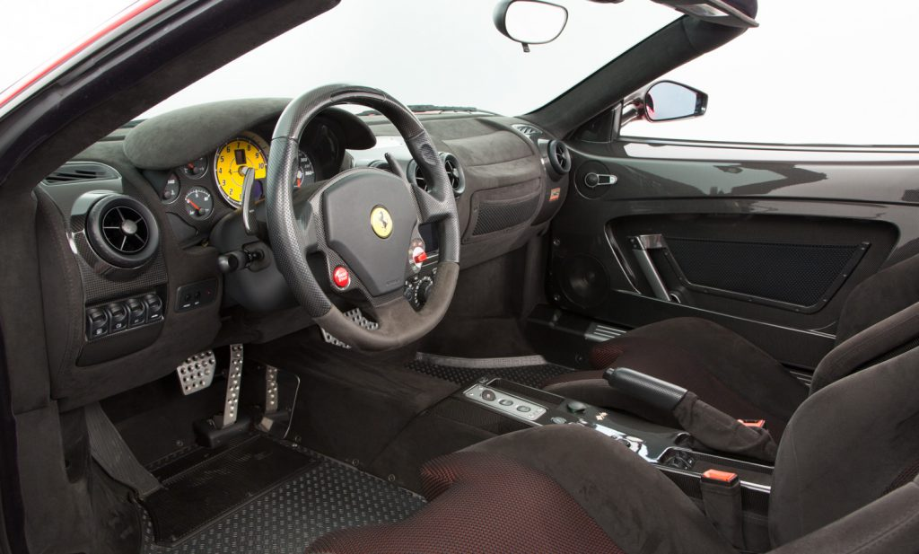 Ferrari 16M Scuderia For Sale - Interior 3