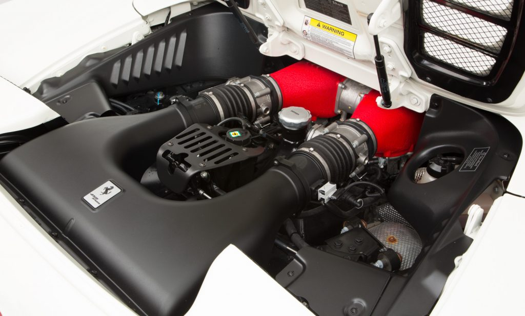Ferrari 458 Spider For Sale - Engine and Transmission 3