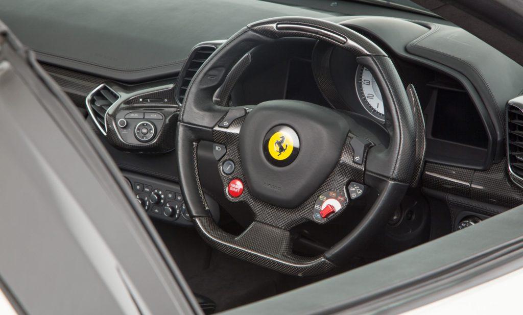 Ferrari 458 Spider For Sale - Interior 3