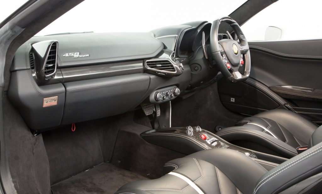 Ferrari 458 Spider For Sale - Interior 5