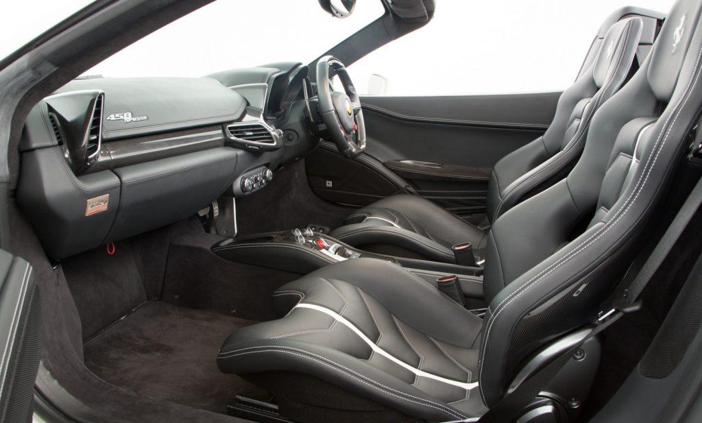 Ferrari 458 Spider For Sale - Interior 4