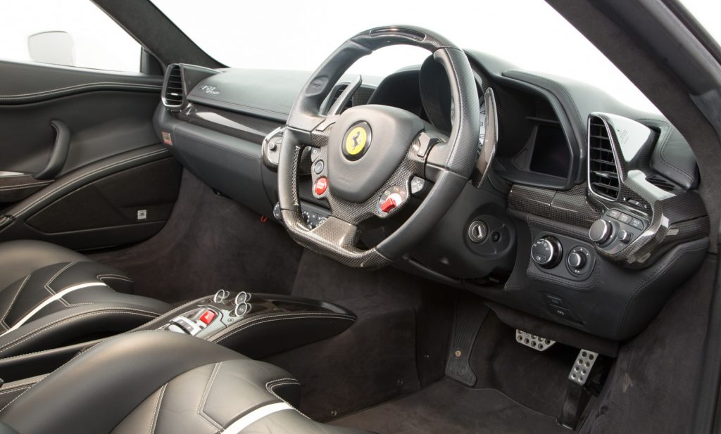 Ferrari 458 Spider For Sale - Interior 2
