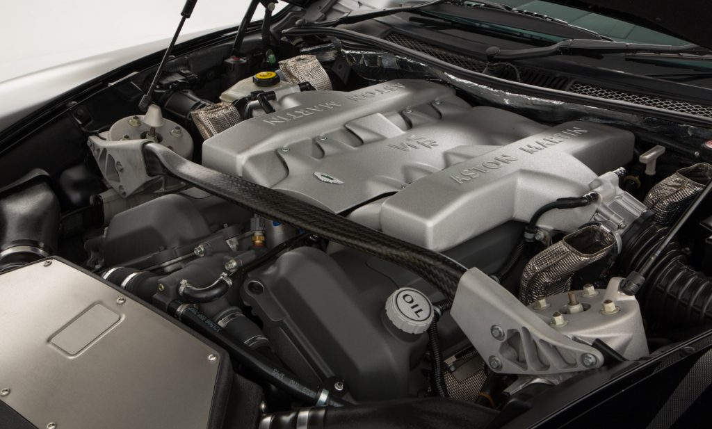 Aston Martin Vanquish S For Sale - Engine and Transmission 3