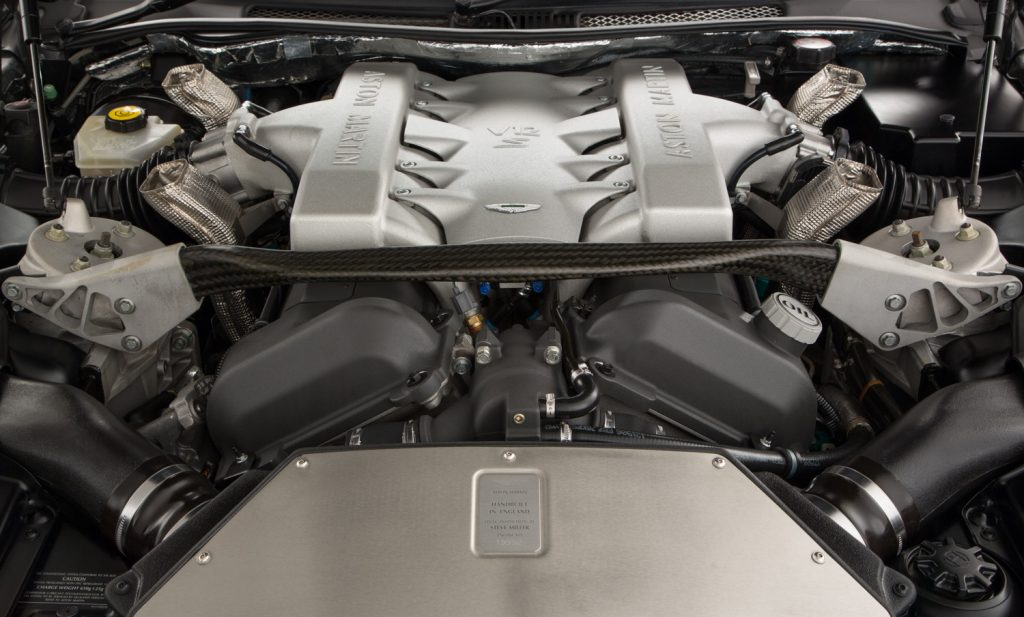 Aston Martin Vanquish S For Sale - Engine and Transmission 4