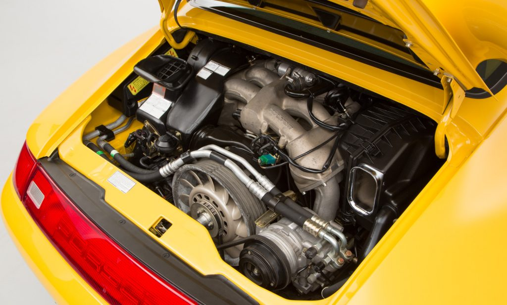 Porsche 993 Carrera RS For Sale - Engine and Transmission 4