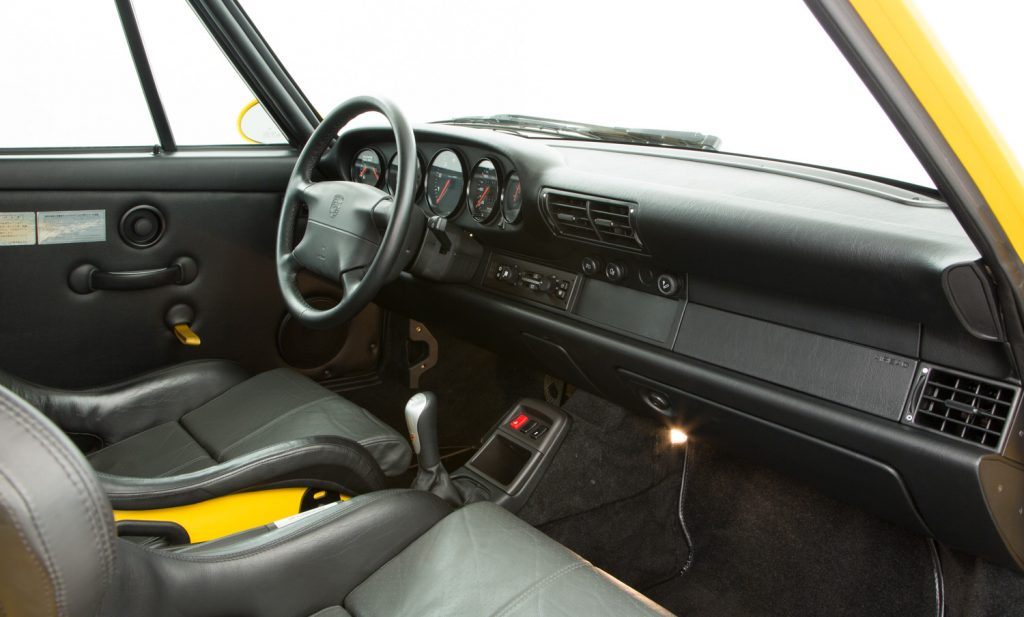 Porsche 993 Carrera RS For Sale - Interior 5