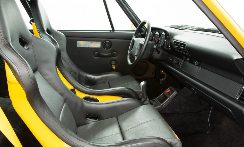 Porsche 993 Carrera RS For Sale - Interior 4