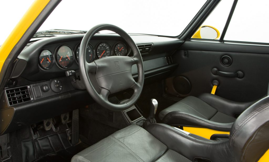 Porsche 993 Carrera RS For Sale - Interior 2