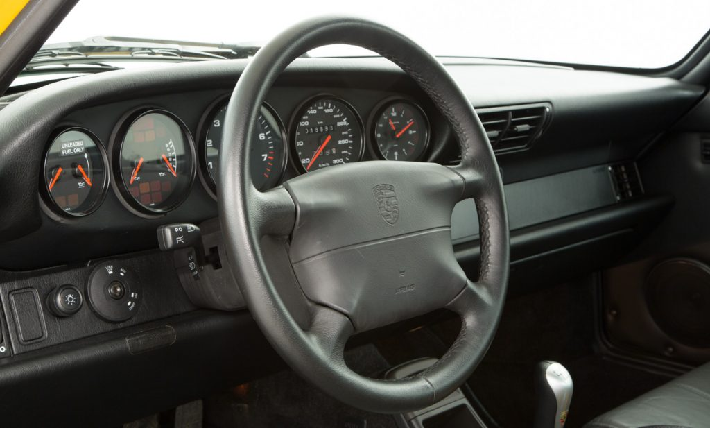 Porsche 993 Carrera RS For Sale - Interior 3