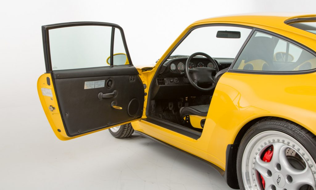 Porsche 993 Carrera RS For Sale - Interior 1