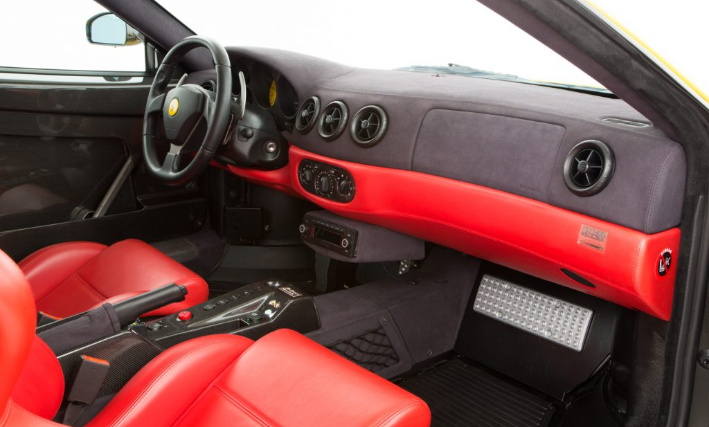 Ferrari Challenge Stradale For Sale - Interior 2