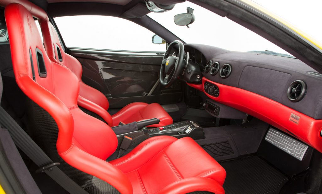 Ferrari Challenge Stradale For Sale - Interior 1