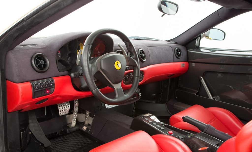 Ferrari Challenge Stradale For Sale - Interior 6
