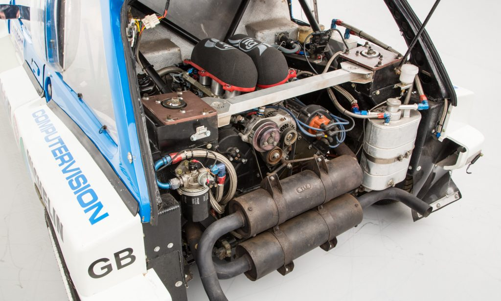 MG Metro 6R4 For Sale - Engine and Transmission 1