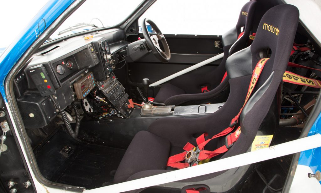 MG Metro 6R4 For Sale - Interior 2
