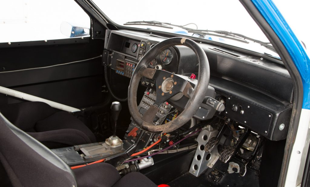 MG Metro 6R4 For Sale - Interior 3