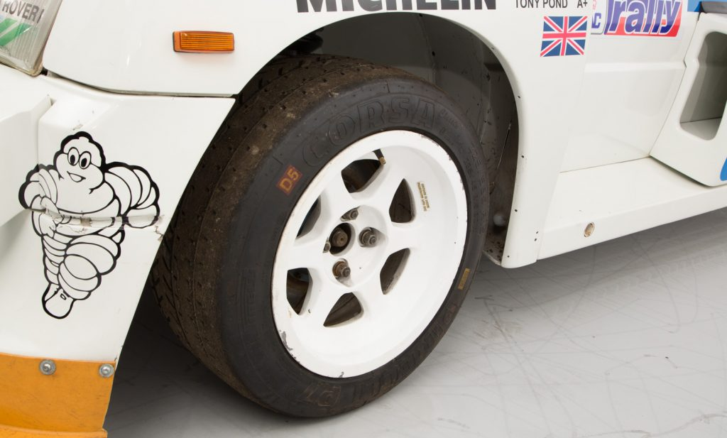 MG Metro 6R4 For Sale - Wheels, Brakes and Tyres 1