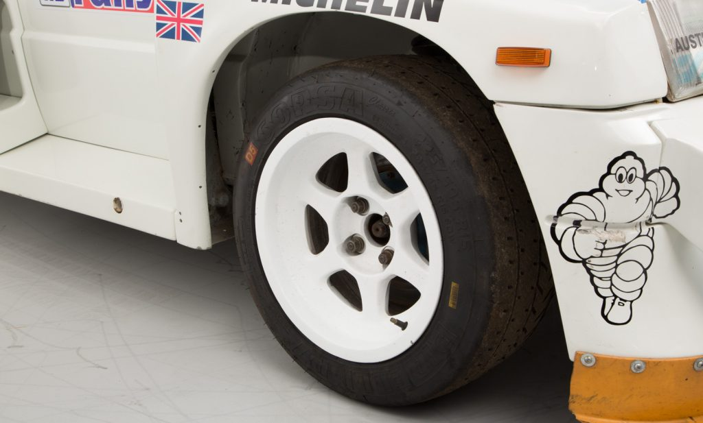 MG Metro 6R4 For Sale - Wheels, Brakes and Tyres 3