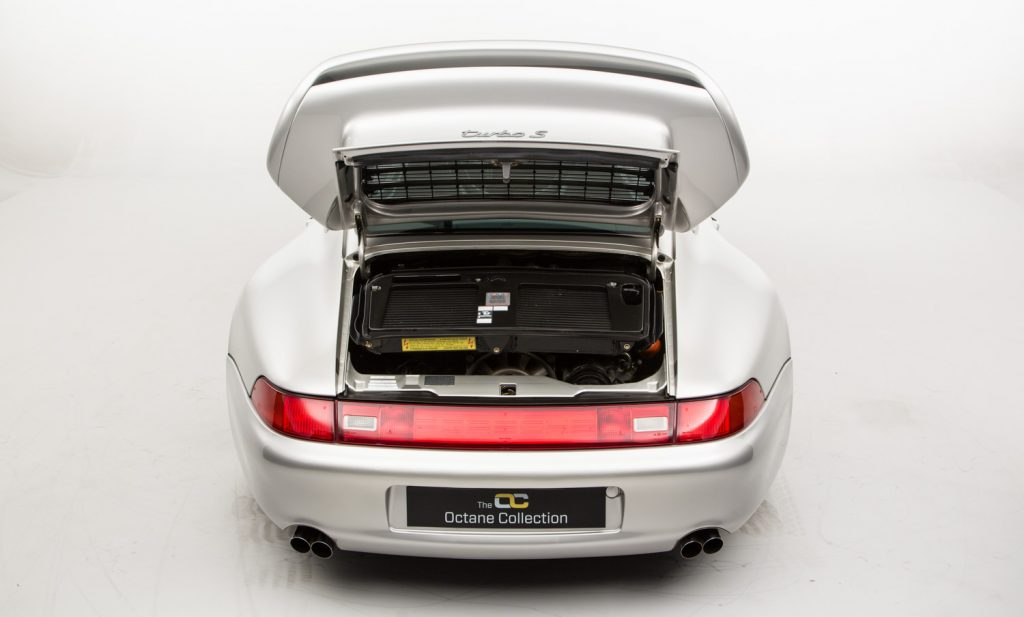 Porsche 911 993 Turbo S For Sale - Engine and Transmission 1