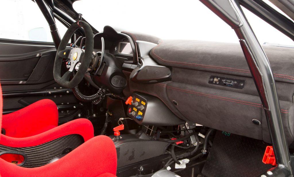 Ferrari 458 Challenge For Sale - Interior 2
