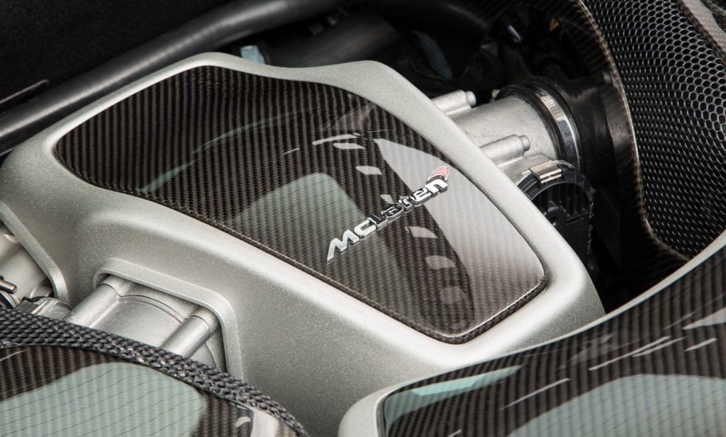 McLaren MP4-12C For Sale - Engine and Transmission 4