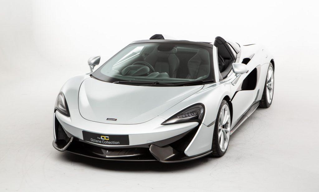 McLaren 570S Spider For Sale - Exterior 3