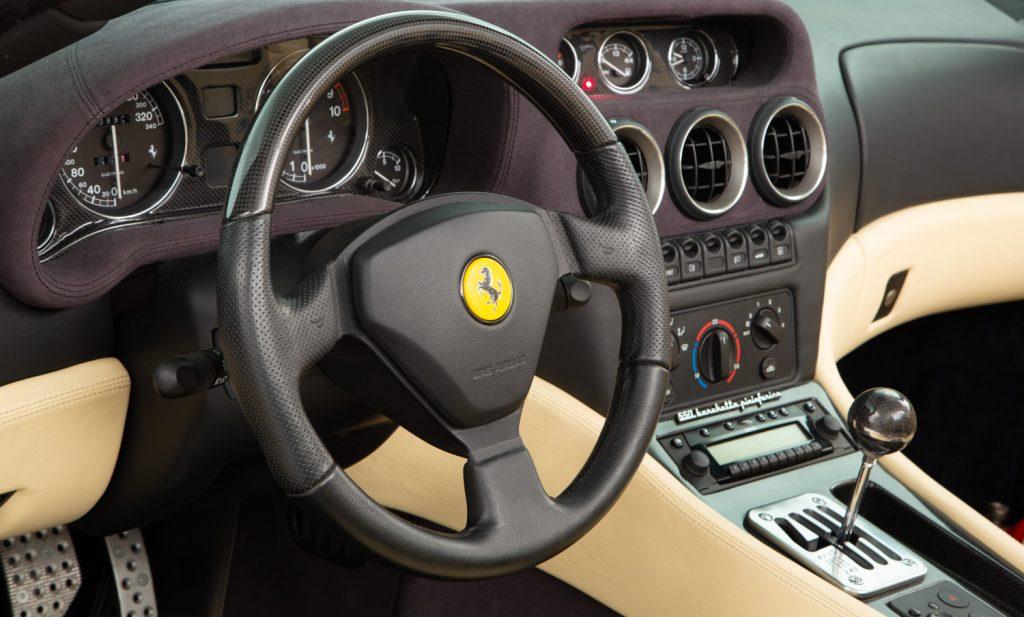 Ferrari 550 Barchetta For Sale - Interior 3